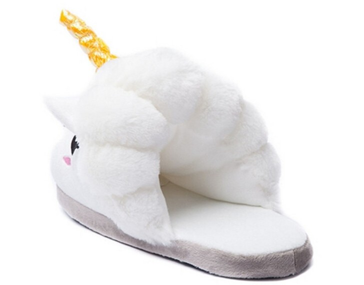 HTB1SBn6MXXXXXaCXpXXq6xXFXXXM - Indoor Slippers Plush Home Shoes Unicorn Slippers for Grown Ups Unisex Warm Home Slippers Shoes