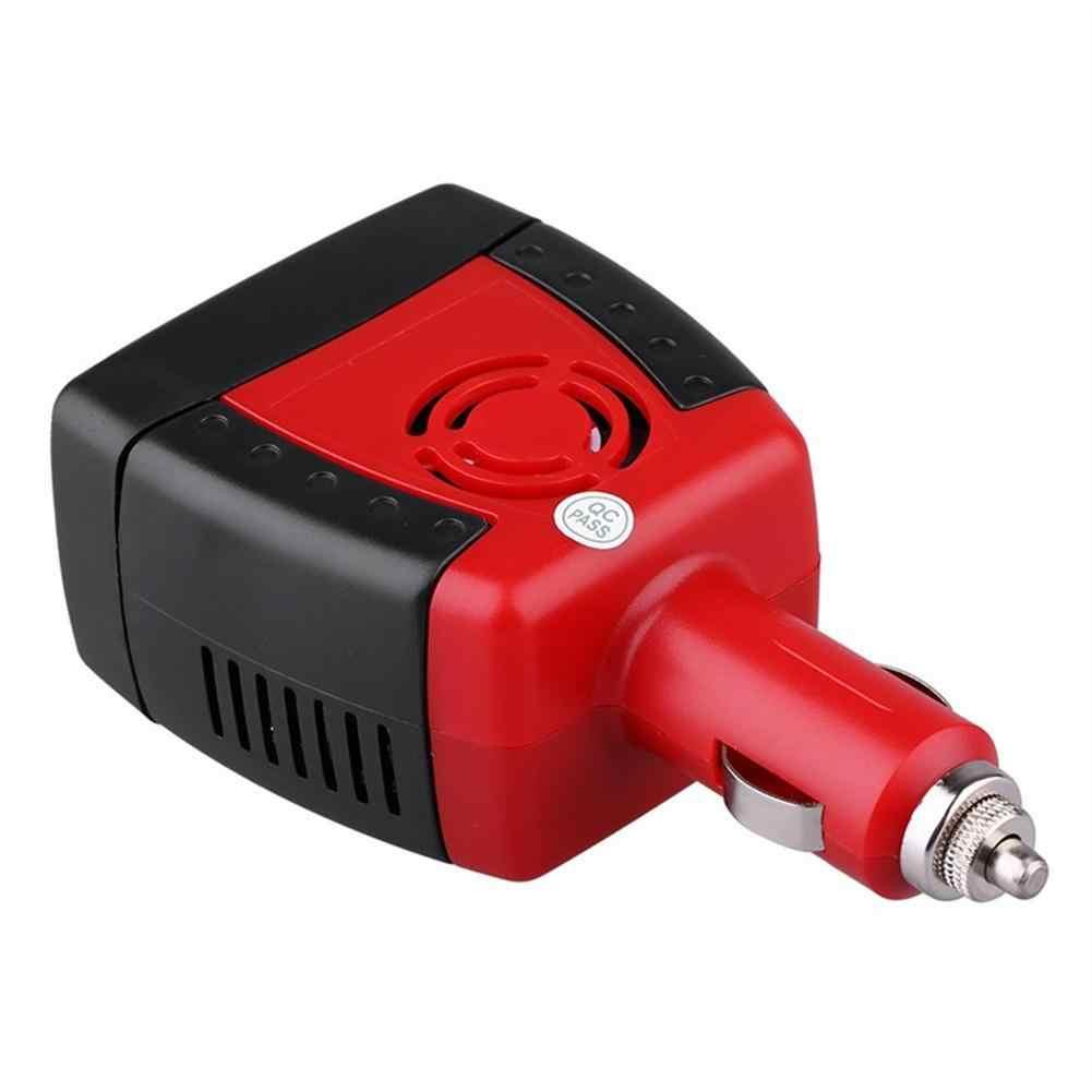 Car Power Inverter USB 2.1A 75w DC 12V AC 220V 50HZ Converter Adapter With Cigarette Lighter Car Charger For Phone Laptop