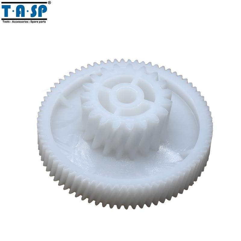 все цены на 2pcs Meat grinder Spare parts plastic Mincer gears fit Zelmer 886 986 Scarlet SC-1148 Bork KAMBROOK BOSCH Polaris VITEK ADLER онлайн