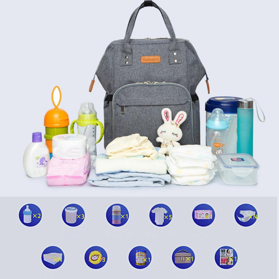 MOLAVE Backpacks new high quality Oxford Mommy Diaper Baby Thermal Portable Mother Nappy Tote Pack backpack women mar23 рюкзаки zipit рюкзак shell backpacks