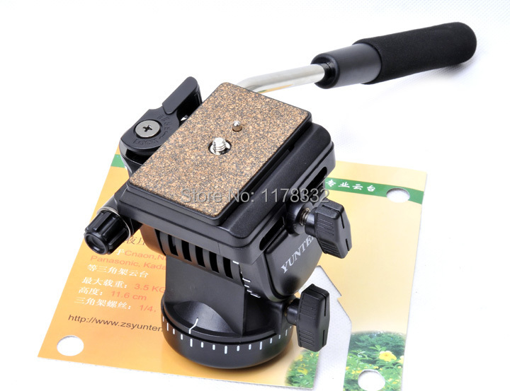 Pro YT-950 Tripod Action Fluid Drag Head Video Camera For DSLR Shooting Filming new original cpu cooling fan for lenovo thinkpad e430 e435 e430c e530 e535 heatsink 4 pins dc 5v cooler free shipping