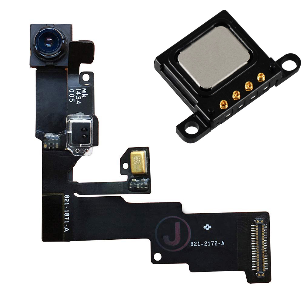 2pcs/set For IPhone 6 6 Plus 6s 6s Plus Face Front Camera Module With Sensor Proximity Flex + Ear Piece Sound Speaker