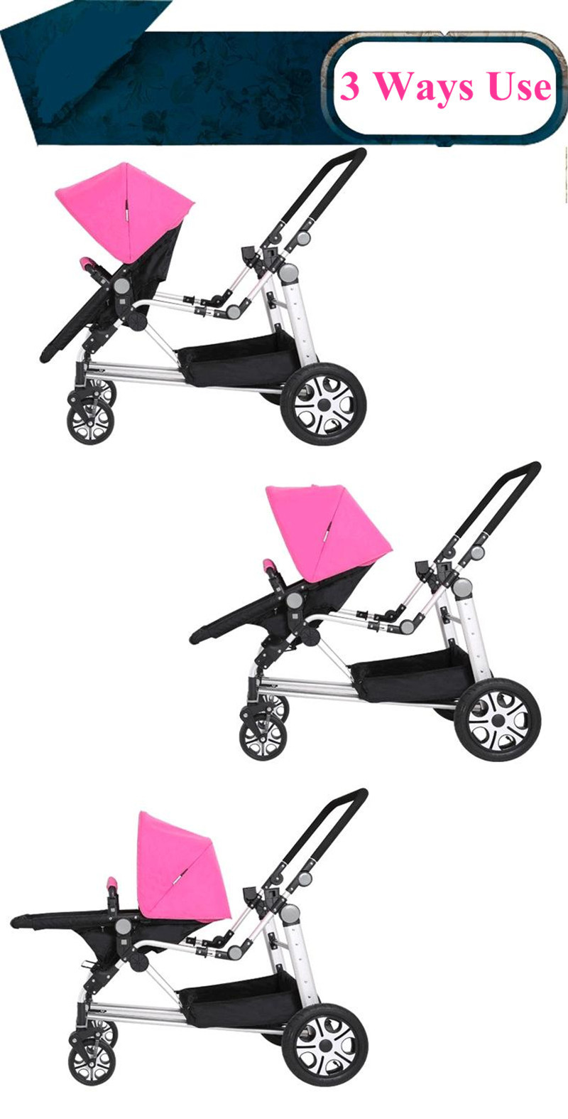 Twims Babies Strollers10
