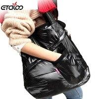 Cotton Fashion Women Handbag Women Shoulder Bag Warm Handbags winter bag