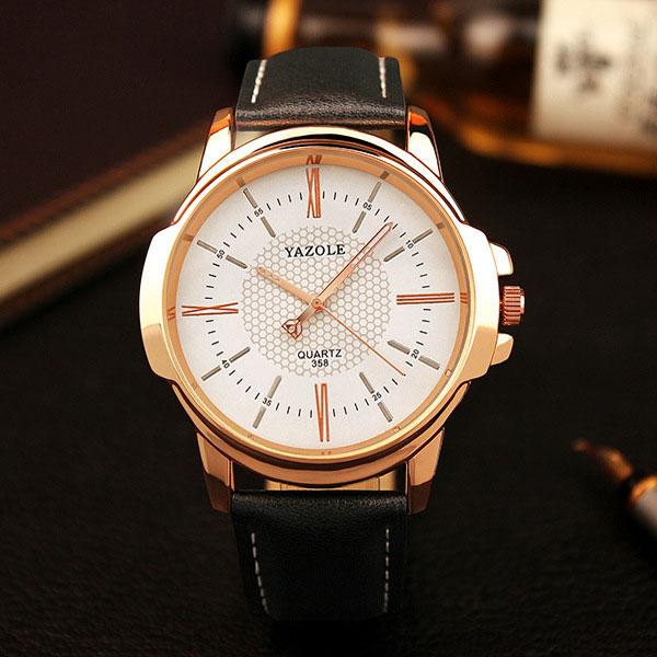 Rose Gold Wrist Watch Men 2018 Top Brand Luxury Famous Male Clock Quartz Watch Golden Wristwatch Quartz-watch Relogio Masculino 1