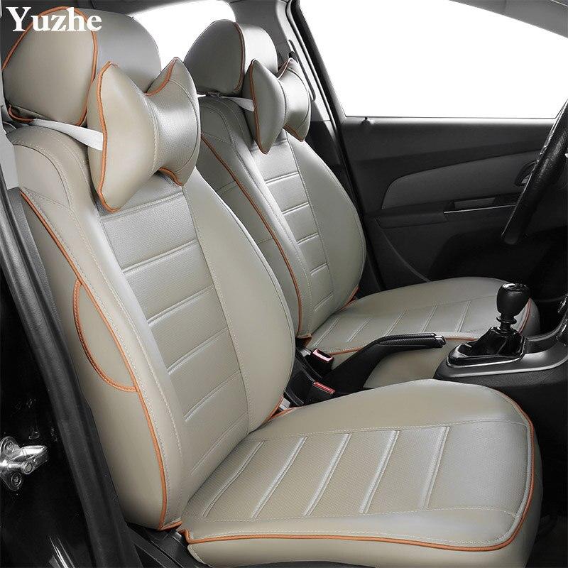 Housse de siège Auto Yuzhe (2 sièges avant) pour Toyota RAV4 Highlander COROLLA Prius Land CRUISER PRADO accessoires