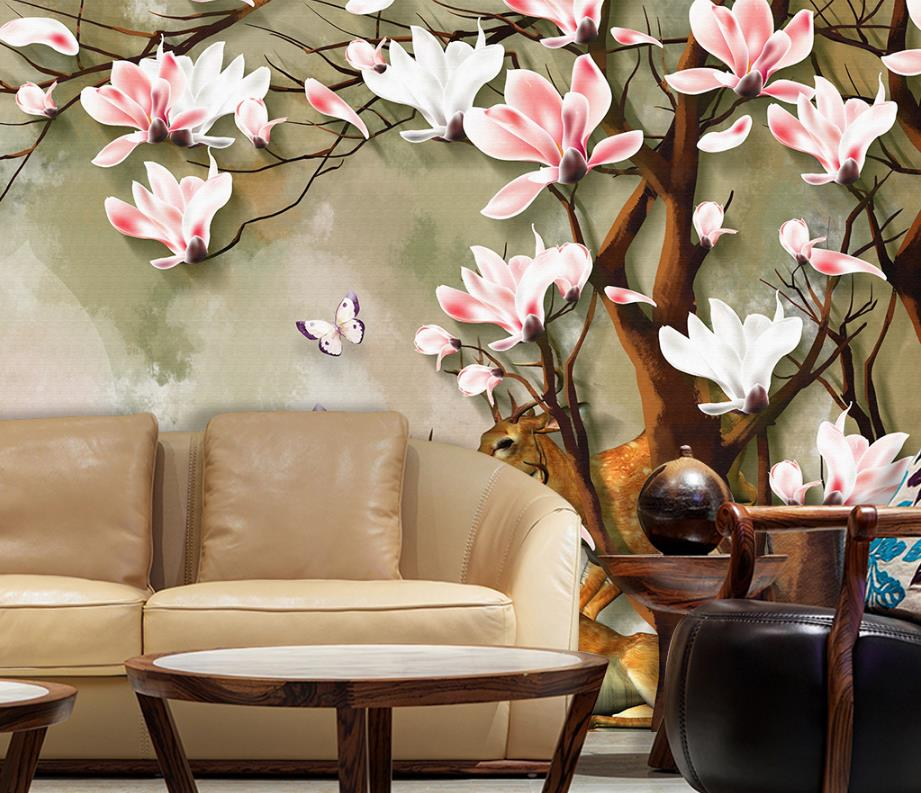 Custom Home Improvement 3d Wallpapers Walls Living Room
