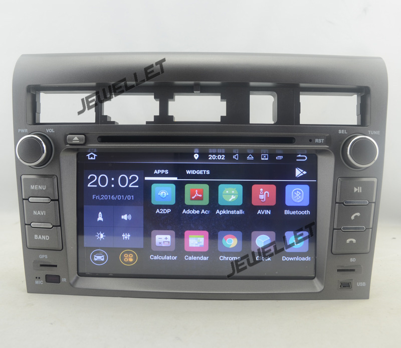 Quad core 1024 600 HD screen Android 7 1 Car DVD GPS Navigation for Kia Opirus