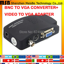 Top speed Monitoring host interface Video camera DVD display vga converter 1920*1280P BNC to vga adapter