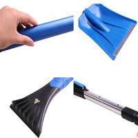 Ice Scraper 2017 NEW HOT Home Car Snow Ice Scraper SnoBroom Stretching Snowbrush Shovel Removal Brush