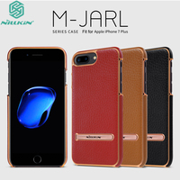 For Apple IPhone 7 Plus Case Original Nillkin Luxury Leather Shell Kickstand Design For IPhone7 Plus