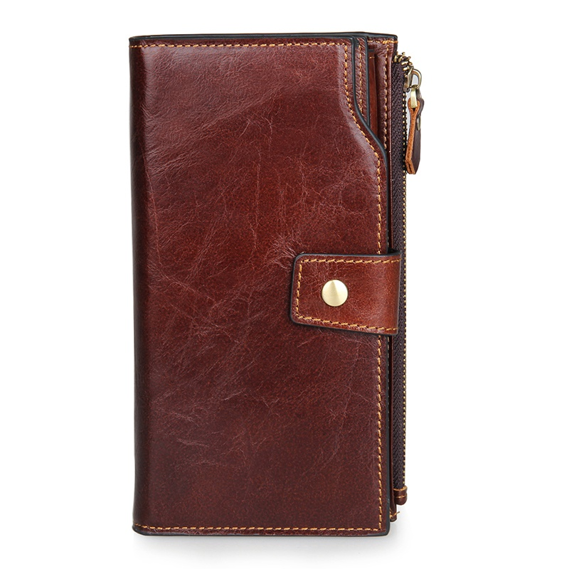 2016 Business Men Clutch Bags Genuine Leather Wallet Men New Brand Wallets Male Long Wallets Purses carteira masculina 2016 famous brand new men business brown black clutch wallets bags male real leather high capacity long wallet purses handy bags