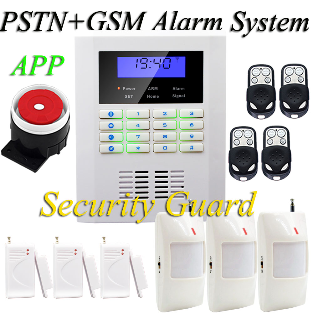 Free shipping NEW 3PCS PIR Door magnetic sensor for remote control Wireless home security alarm  PSTN& GSM alarm system 433MHz