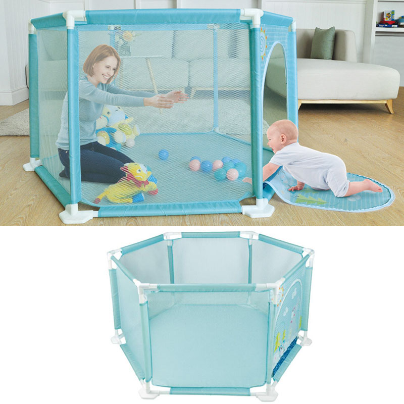 New Game Fence Playing Indoor and Outdoor Easy Folding Ball Pit Play Ball Pits Toys