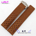 Super car can be equipped with leather strap watch strap 22mm male fitting Calera