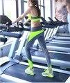 4 Цвета S-XL Женская Мода Pacthwork Леггинсы Спандекс Push Up Хип Фитнес Леггинсы Приключения Время Тренировки Femme Леггинсы Женщин