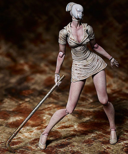 Movie Silent Hill II Variant Action Figure Bubble Head Nurse Figma SP-061 Toy Without Retail Box (Chinese Version)