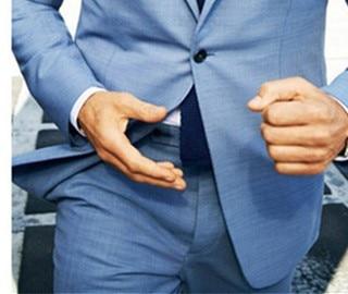 2018 Costume Homme Mariage As Collar epoux custom Bleu Smokings Notch Made Costumes Image Tpsaade De The Hommes Pantalon Clair Marié Fit veste Groomsman Slim Meilleur 8Rnwapx6qd
