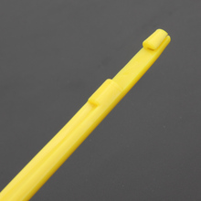 2Pcs  Easy Hook Loop Tyer & Disgorger Tool Tie Fast Knot Tying Tool for Fly Fishing Line Tier Kit Yellow Small in Packed