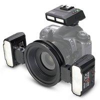 Meike MK MT24 макро двойной Lite вспышка для цифровых зеркальных камер Nikon