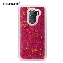 Фотография FULAIKATE Case For Alcatel A30 Fierce 2017 Glitter Dynamic Soft Back Cover for Alcatel A30 Plus Quicksand Phone Protective cases