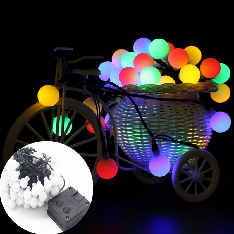 OSIDEN 8M 60 LED Solar Lamps LED String Fairy Lights Garland Christmas Solar Lights For Wedding Garden Party Decoration Outdoor