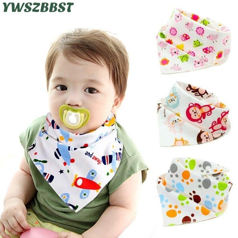 040903ae3e93 x1pcs Cute Cotton Bib Baby Girl Bibs Baby Boy Bib Bandana Bibs ...