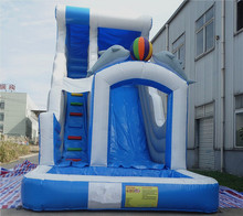 цены 2016 large inflatable slide for kids /customzied factory price inflatable pool slide /inflatable water slide