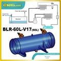 Жидкий бак хладагента 60л с 2-1/8 клапаном rotalock  установленными тандемными компрессорами  сменными приемниками