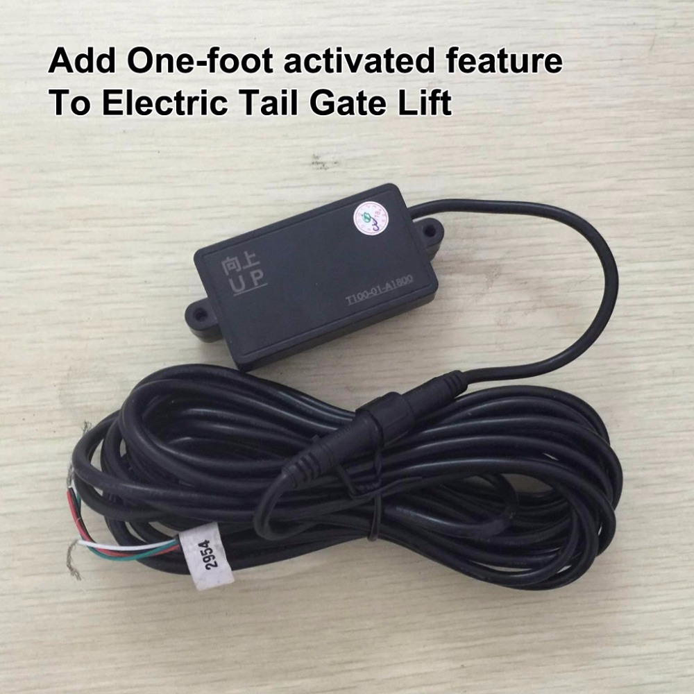 One-foot activated induction module for Smart Auto Electric Tail Gate Lift