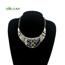 For women vintage chokers maxi bohemian necklaces & pendants boho ethnic collar 2017 multicolor chocker costume jewelry famale