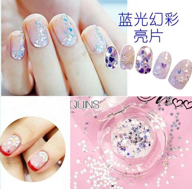 Aliexpress.com : Buy 1 Bottle Nail Glitter Star Moon Design Art ...