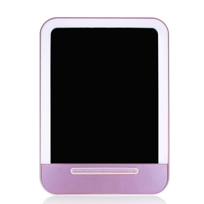 Adjustable LED Touch Screen Makeup Mirror Professional Vanity Mirror With LED Lights Health Beauty Countertop 180 Rotating все цены
