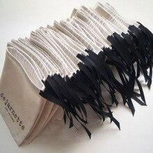 """Ювелирные изделия хлопок лента шнурок мешок 8x10 см("""" x 4"""") 9x12 см 10x15 см("""" x 6"""") 13x17 см вечерние мешок для конфет макияж Подарочный мешочек"""