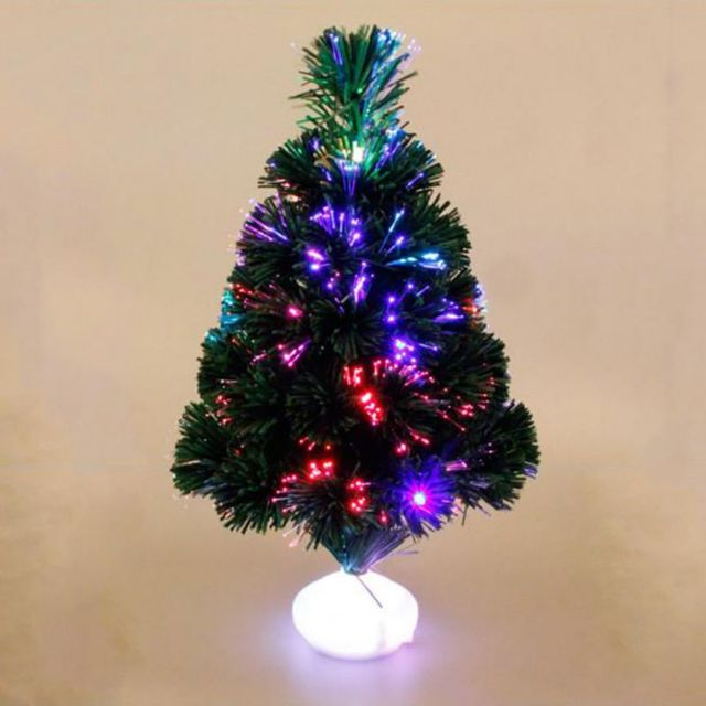 Led Fiber Optic Christmas Trees.Us 11 89 18 Off 1pcs Colorful Led Fiber Optic Nightlight Decoration Light Lamp Mini Christmas Trees In Trees From Home Garden On Aliexpress Com