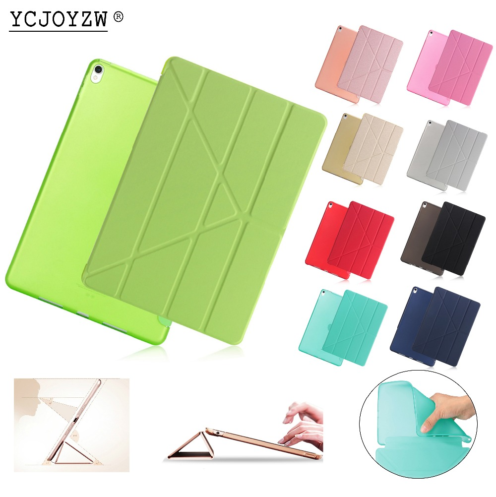Official Case For Apple New Ipad Air Pro 10.5 Inch (2017·2019) : A1701`A1709 ,PU Leather Cover+TPU Soft Smart Auto Sleep CASE
