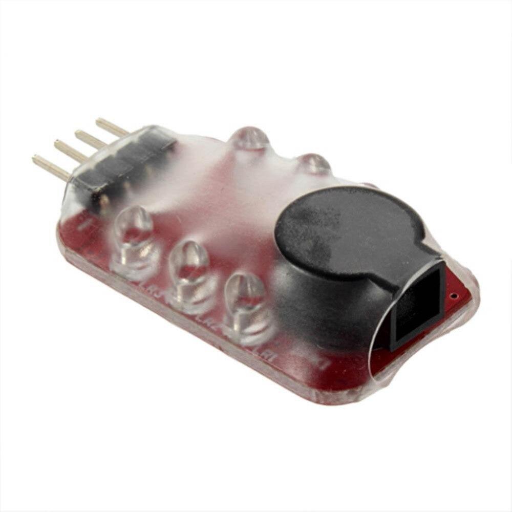 Низкая LED Давление сигнализации, которая может указать lipoions ячейки Напряжение автоматически