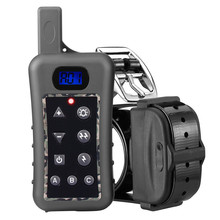 Горячая электрический ошейник для собак DT400 400 meterrange водонепроницаемость, вибрация и шок тренировочный ошейник для собак с дистанционным управлением
