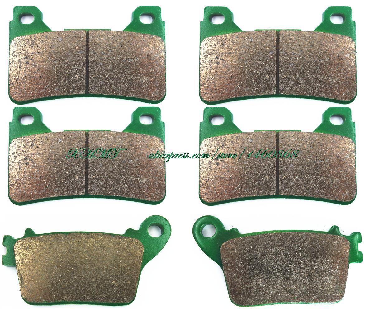 Тормозные колодки комплект для Honda CBR600RR ЦБ РФ 600 рублей / Лим. Эд. / Огненный Репсол 2007