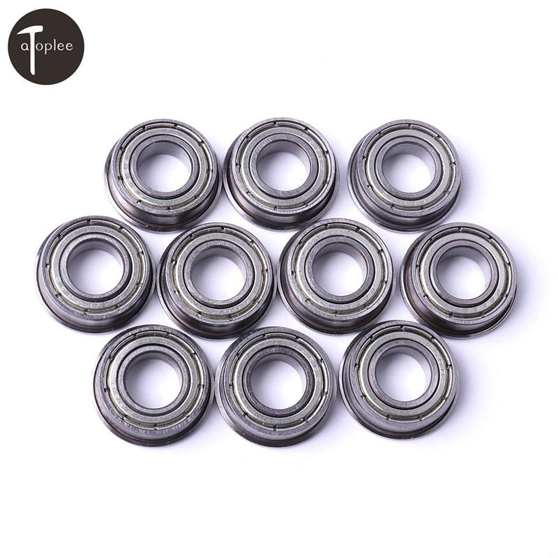 10Pcs Bearing Steel Flanged Miniature Bearing  2/3/4/5/6/7/8/9/10/12/15/17mm Micro Thin Ball Bearings For Machine Mold10Pcs Bearing Steel Flanged Miniature Bearing  2/3/4/5/6/7/8/9/10/12/15/17mm Micro Thin Ball Bearings For Machine Mold