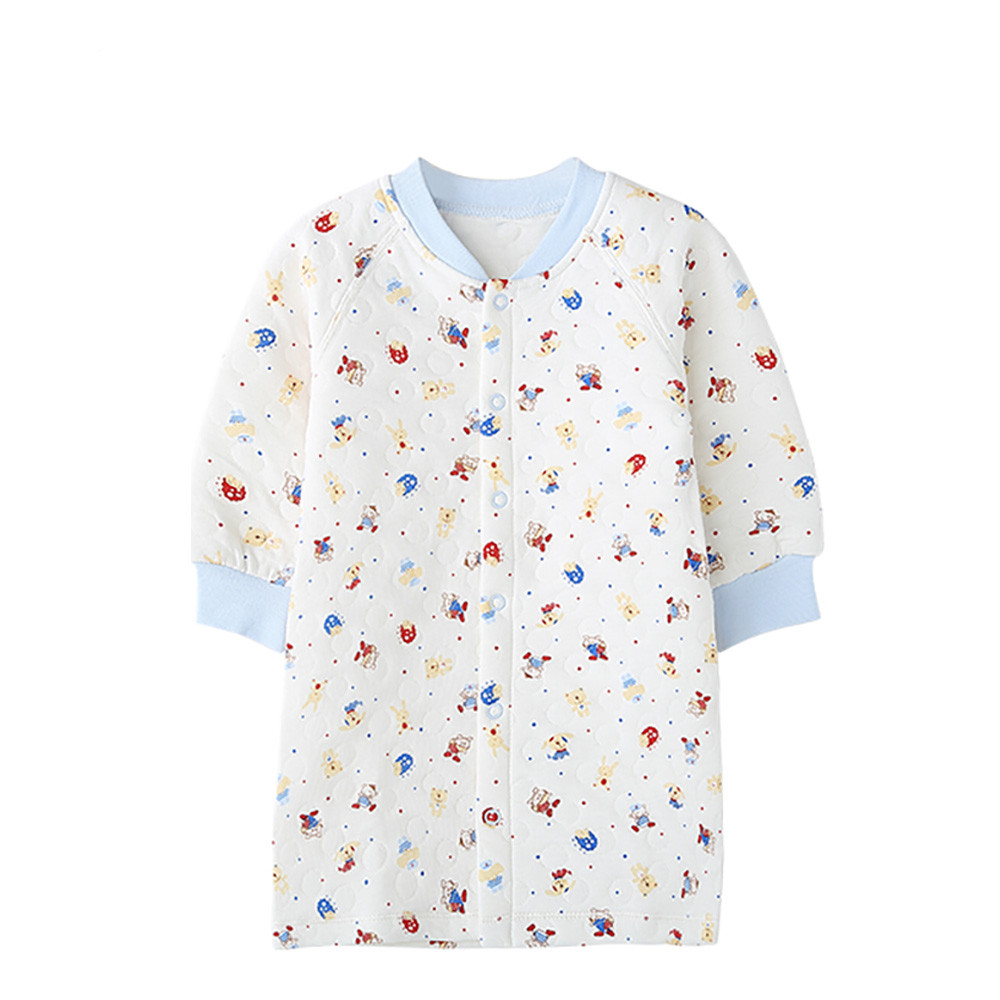 New Colorful Warm Baby Sleep Gown Newborn Pajama Tiny Cotton Night ...