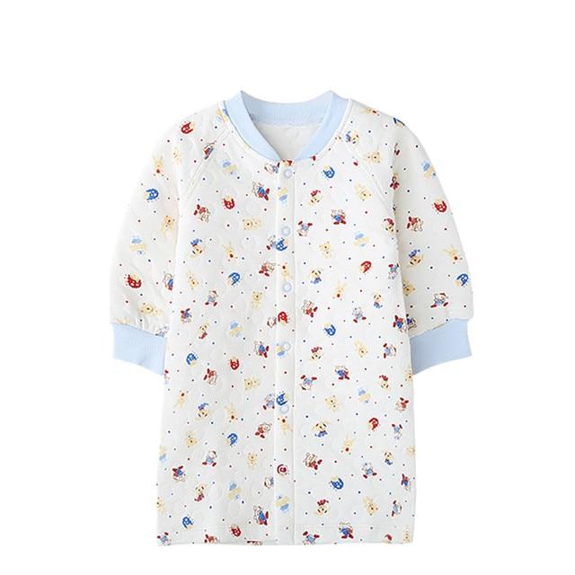New Colorful Warm Baby Sleep Gown Newborn Pajama Tiny Cotton Night ...