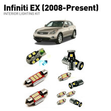 Led interior lights For Infiniti ex 2008+  13pc Lights Cars lighting kit automotive bulbs Canbus