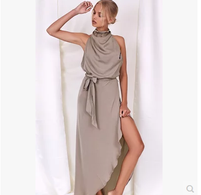 Vintage Frauen Kleid Vestidos Frau Sommerkleid Casual Beach Party ...