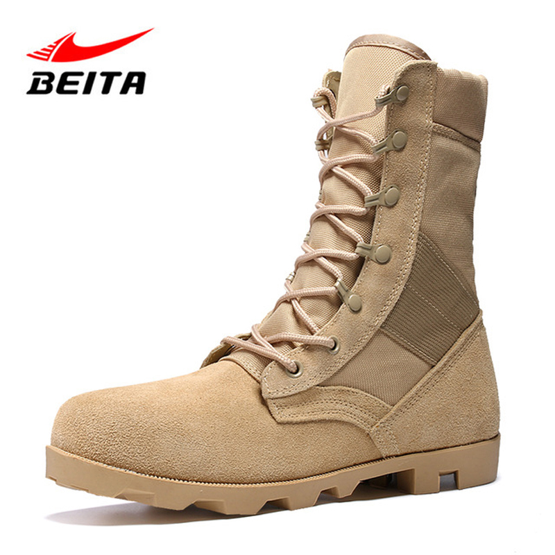 Beita Men Tactical Boots For Outdoor Mountain Hiking Shoes Anti-skid Wear Resistant Water Resistant Multi-terrain Sport Shoes cnc adjustable long folding brake clutch lever for aprilia rsv4 factory rsv4r 2009 2010 2011