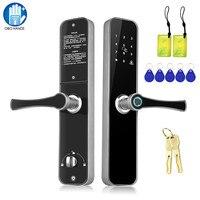 OBO HANDS Smart замок двери отпечатков пальцев RFID замок для контроля доступа цифровой пароль Биометрические электронные замки для дома/квартиры