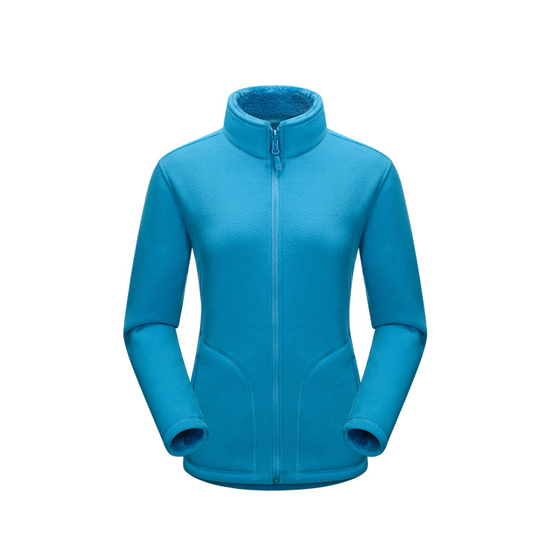 3 Colors Available 2016 Autumn Winter Women Outdoor Fleece Coats Girls Thermal Polar Fleece Jackets Sizes