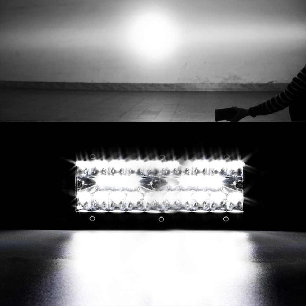 שיתוף אור 2pcs 120W Led עבודה אור בר 7 ''עבור טרקטור הסירה Off-Road משאית Suv טרקטורונים ספוט מבול קומבו 12V 24V Led עבודה אורות