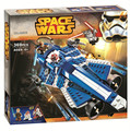 369 Unids JL FASHION Star Wars Building Blocks Anakins Caza Jedi Starfighter Juguetes Para Niños Regalos Personalizados Mini Compatible con LEPIN