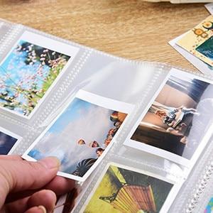 Image 5 - 288 כיסים שקוף מיני סרט Fujifilm Instax מיני 11 9 8 7s 25 70 90 LiPlay קישור מיידי מצלמה סרט בעל